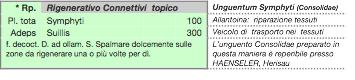 Ricetta magistrale: unguentum consolidae